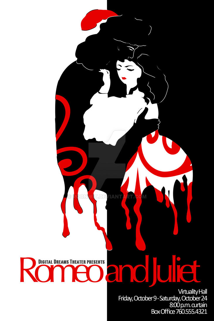 Romeo and Juliet poster by Roonwit on DeviantArt