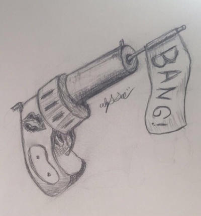 Bang! (Pencil) by LyssTheUnknown