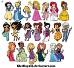 Adventure Time Disney Females! MORE ADDED