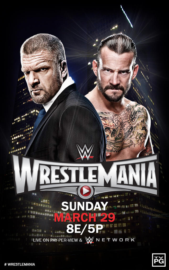 WWE WrestleMania 31 Poster by Pros90