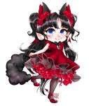 chibi commission for tearful 1/2 by FBSchin