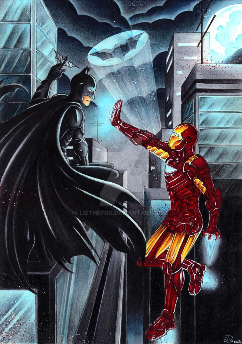 Dc Fan Art : Marvel vs dc by lizthefox on deviantart