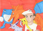 Pokemon Trainer Red (Sun and Moon)