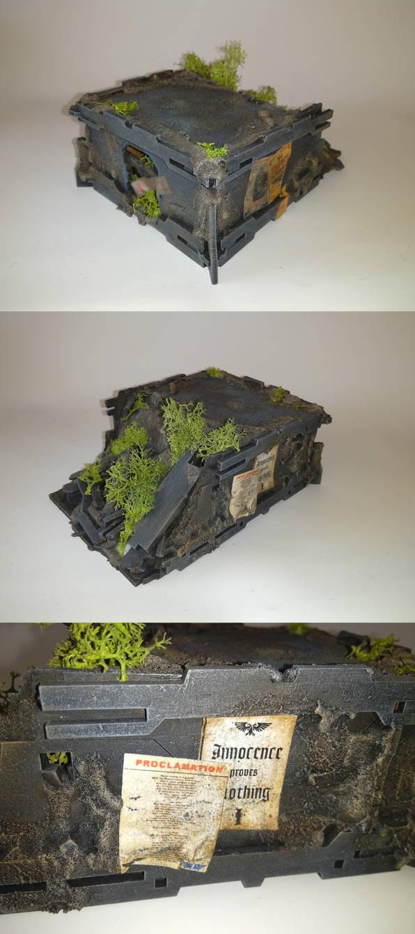Ruin Building fot wh40k mk5