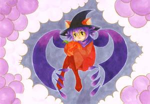 Halloween Niko (on Copic paper)