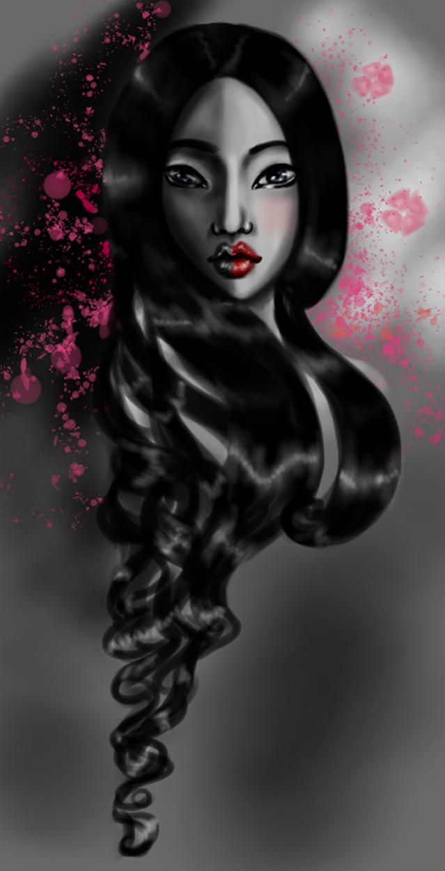 Geisha in the shadow by joyfullmelody