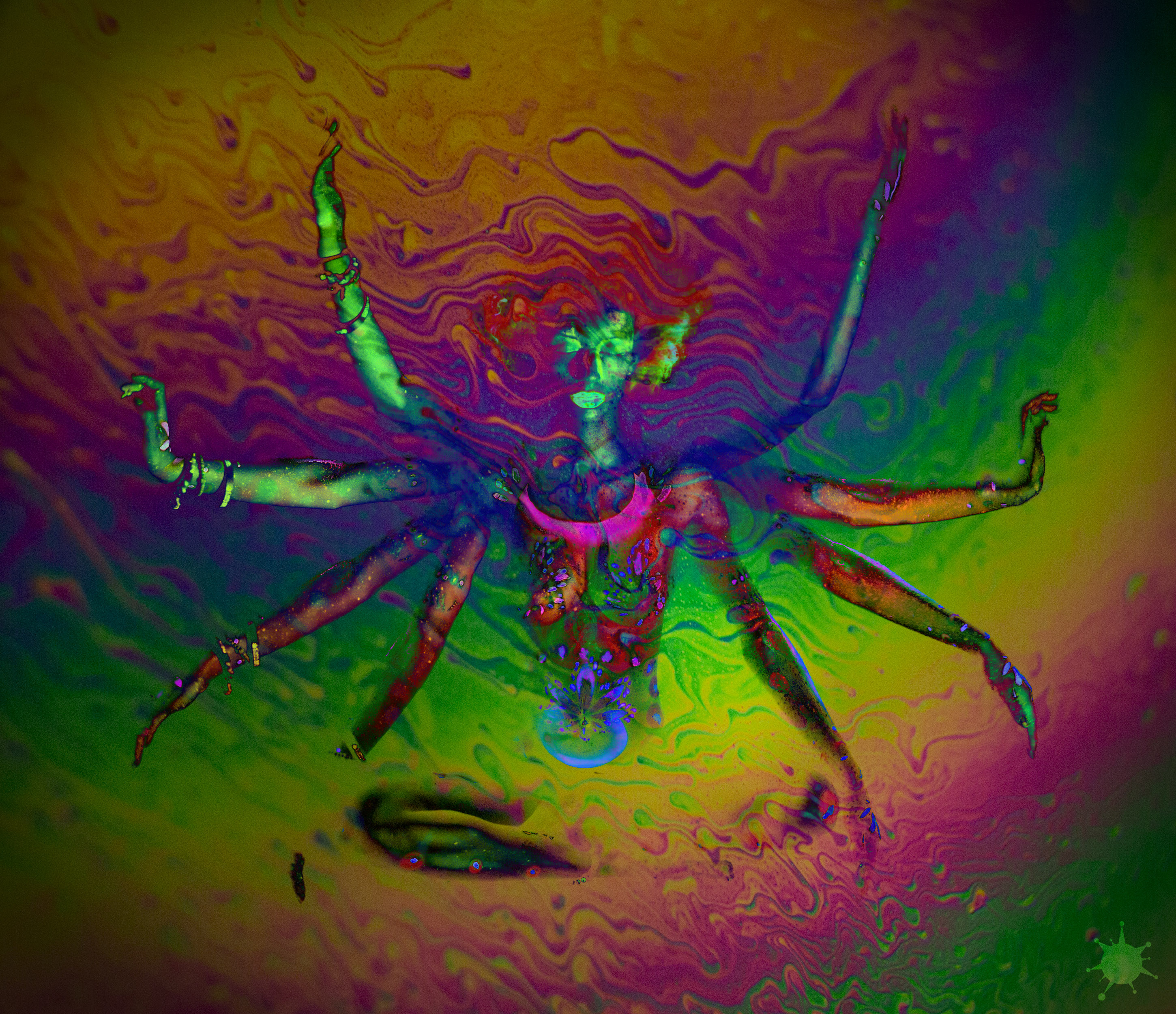Psychedelic Goddess by moonglowdude on DeviantArt