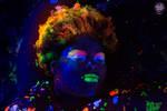 Blacklight Lauren by moonglowdude