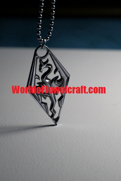 Skyrim pendant by Worldofjewelcraft