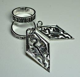 Skyrim Jewelry by Worldofjewelcraft