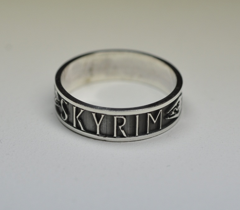 Skyrim Ring by Worldofjewelcraft