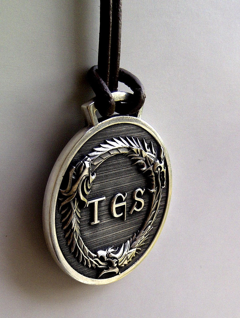 The Elder Scrolls Online Pendant by Worldofjewelcraft