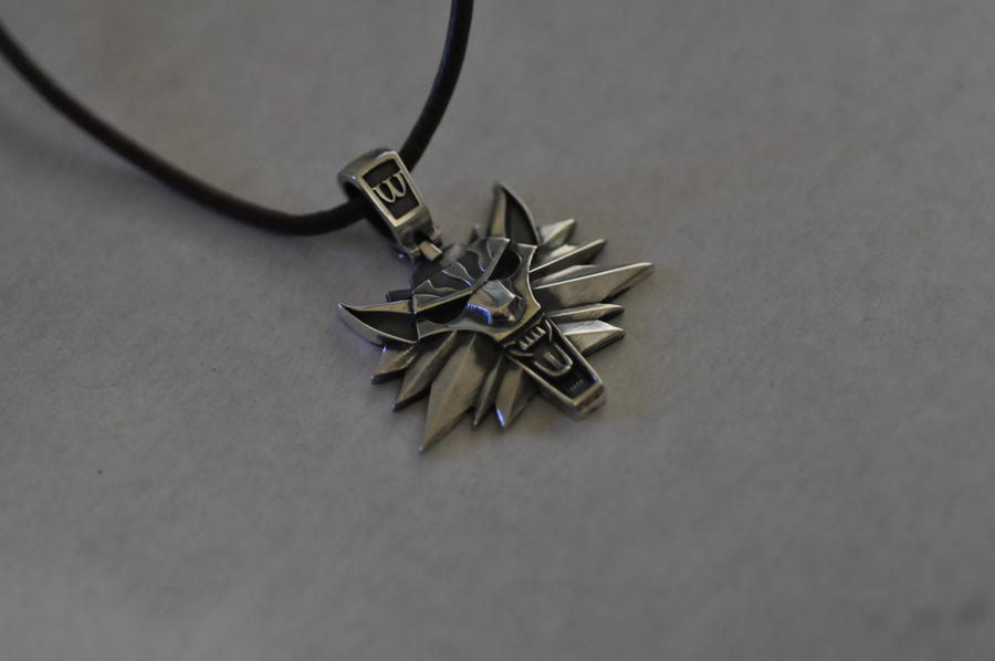 Witcher Necklace by Worldofjewelcraft