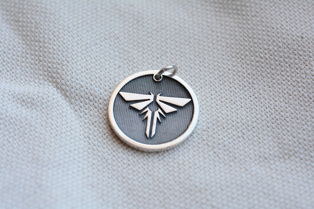The last of us personalized firefly pendant by worldofjewelcraft aloadofball Image collections