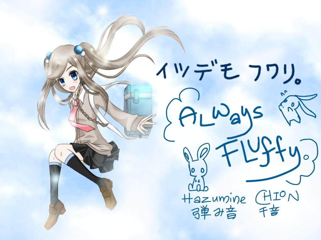 Always Fluffy by Deiyanoko