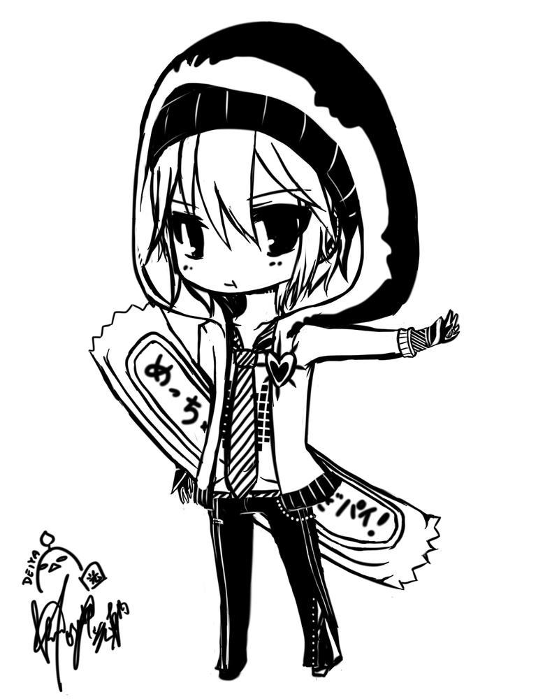 .::Chibi Yuuma::. by Deiyanoko