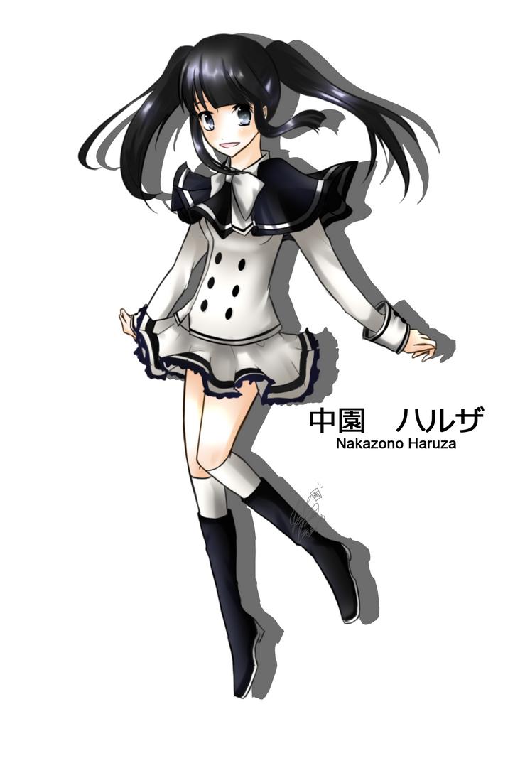 .::Nakazono Haruza::. by Deiyanoko