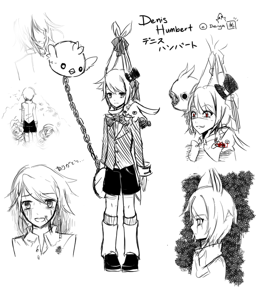 Dennis Humbert Sketch by Deiyanoko