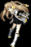 Hazumine Chion -new design- by Deiyanoko
