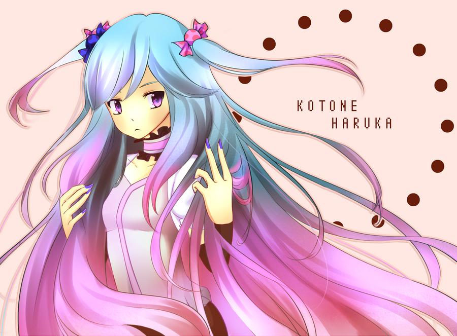 Kotone Haruka by Deiyanoko