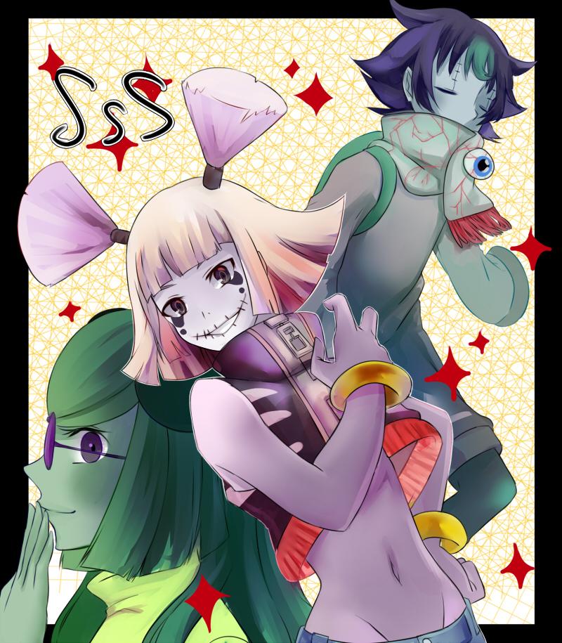 Three of the Seven Deadly Sins by Deiyanoko