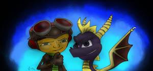 Raz and Spyro