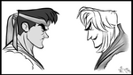 Showing Ryu and Ken