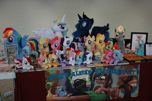My table at GalaCon 2014 by Siora86