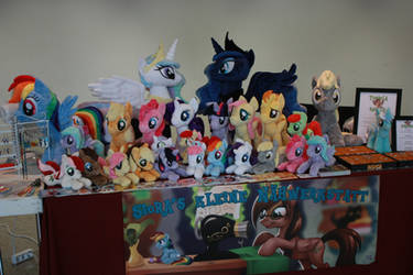 My table at GalaCon 2014
