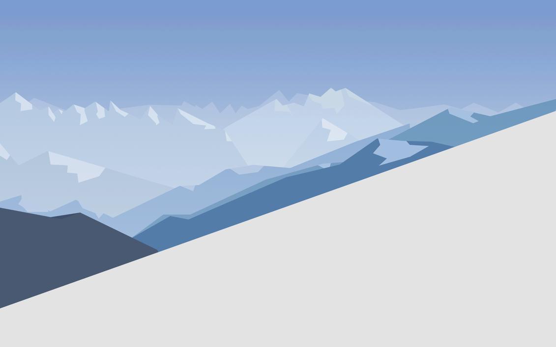 Windows 10 default wallpaper minimal by link6155