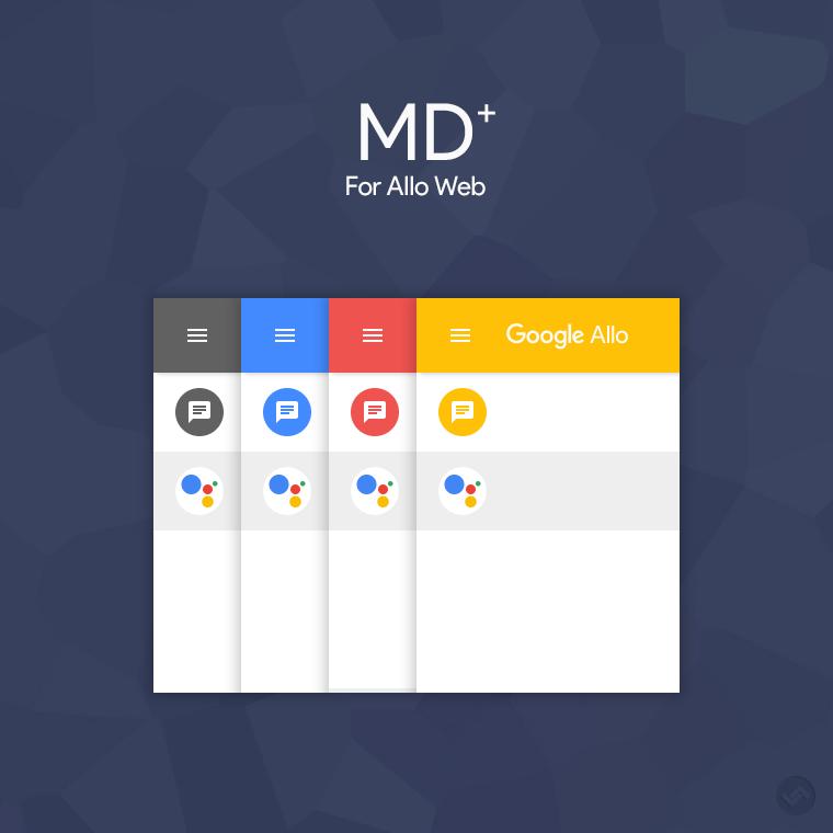 MD+ for Allo Web