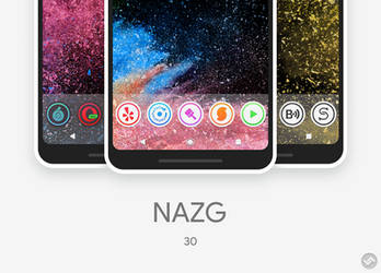 NAZG - Android Icon packs