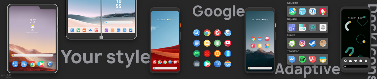Fluidity - Adaptive Icon Pack (BETA)