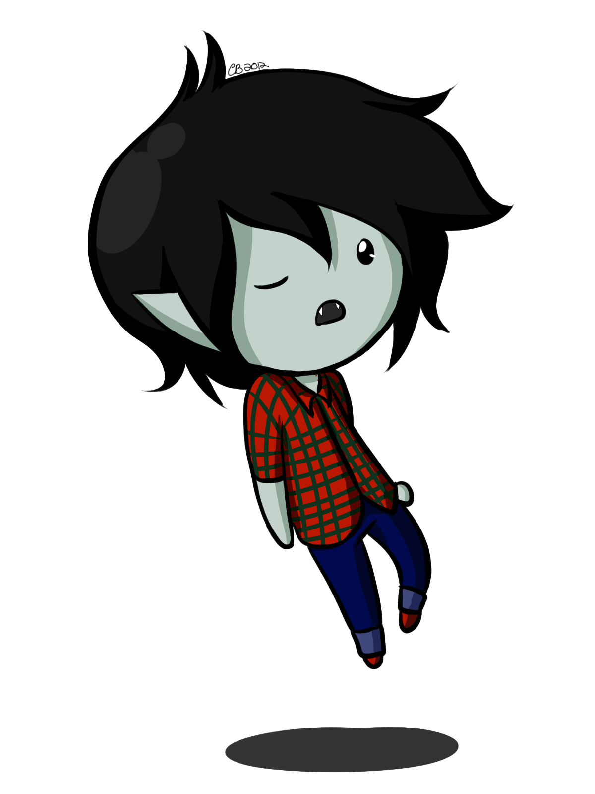 Chibi Marshall Lee by Chiherah