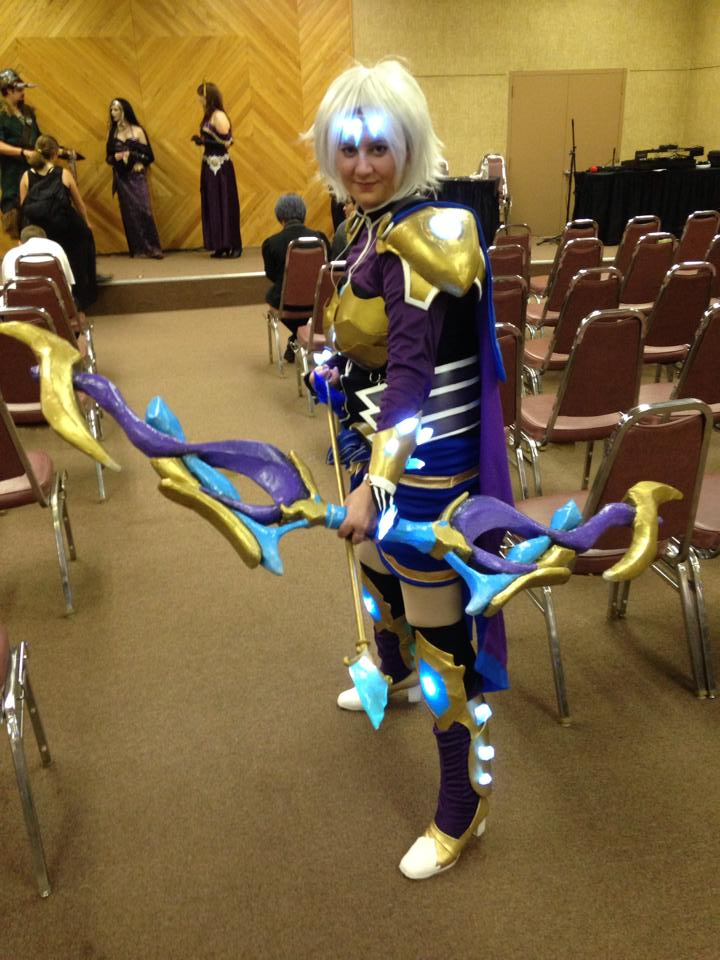 Amethyst Ashe Cosplay - League of Legends by Chiherah