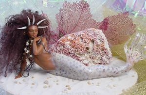 African Sea Maiden mermaid by SutherlandArt