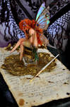 The Inkwell Fairy Sculpture