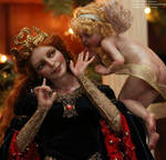 Gladriela and the Secret art doll ooak