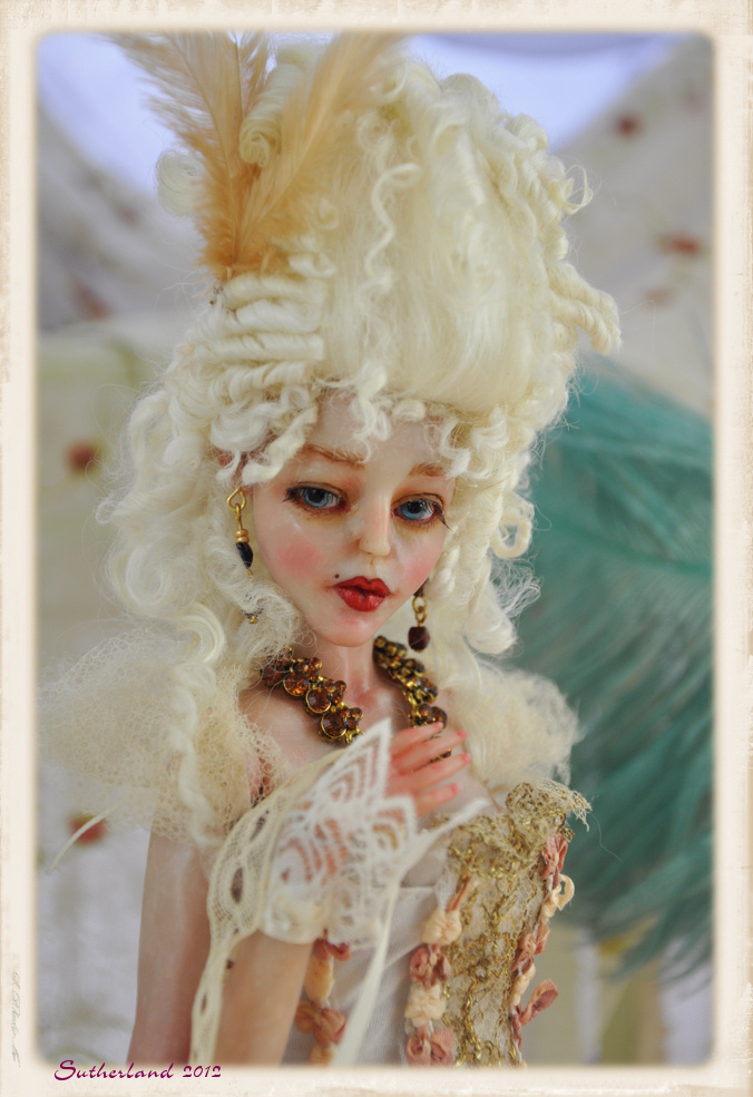 Baroque Rococo Ball jointed doll BJD by SutherlandArt on ...
