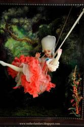 Masters Series swinging rococo sculpture by SutherlandArt