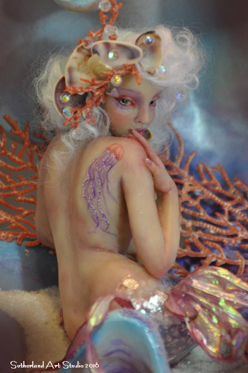 Mermaid SCULPTURE BY SUTHERLAND by SutherlandArt