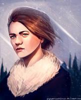 Arya Stark by AragornArathornion