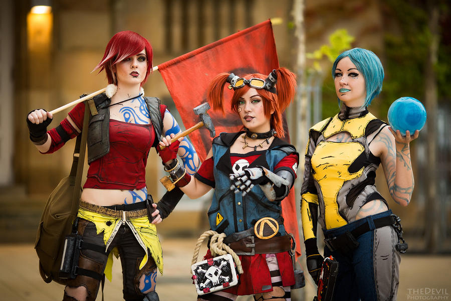 girlpower borderlands 2 by saerithi on deviantart