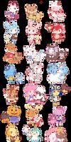 Animal Crossing x Pokemon