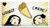 Noodle Crepe Stamp by Ciorane