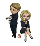 Hannibal - Drs Lecter and Du Maurier