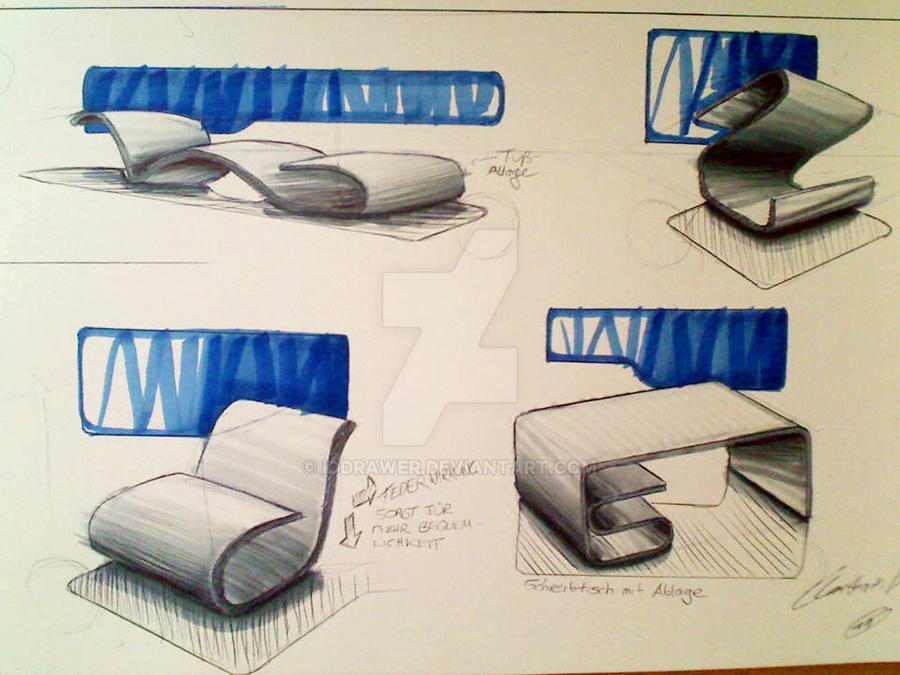 Merveilleux Industrial Design Sketching By IDdrawer ...
