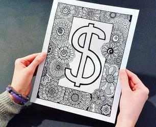 Money Doodle by Eveint