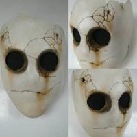 Jitters - Resin Mask by burgerstrings