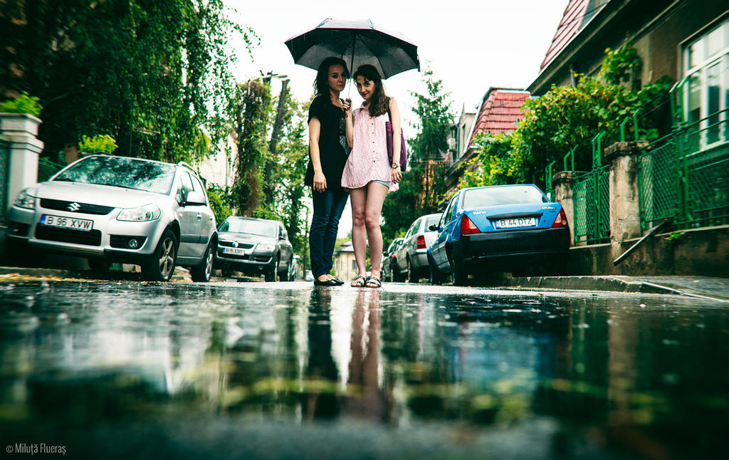 Rainy day by miluta